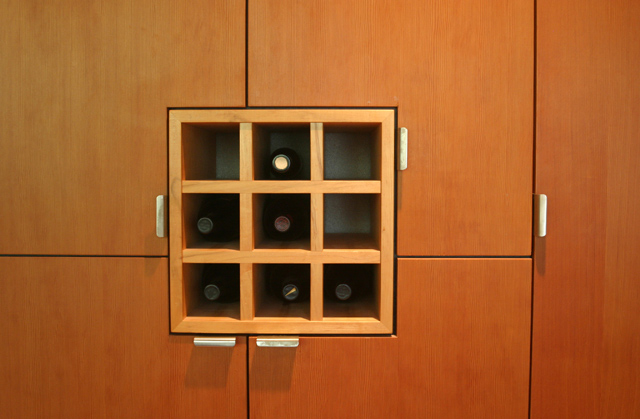 wine rack / cabinetry art